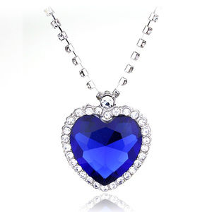 Jewelry - Titanic Heart Of The Ocean Pendant Necklace New